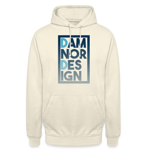 Damnor design (H) - Sweat-shirt à capuche unisexe