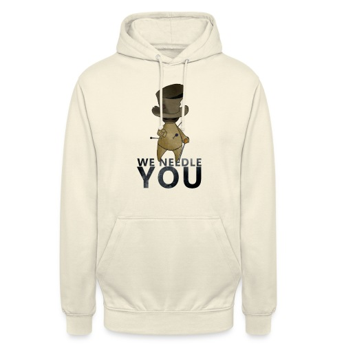 WE NEEDLE YOU - Sweat-shirt à capuche unisexe
