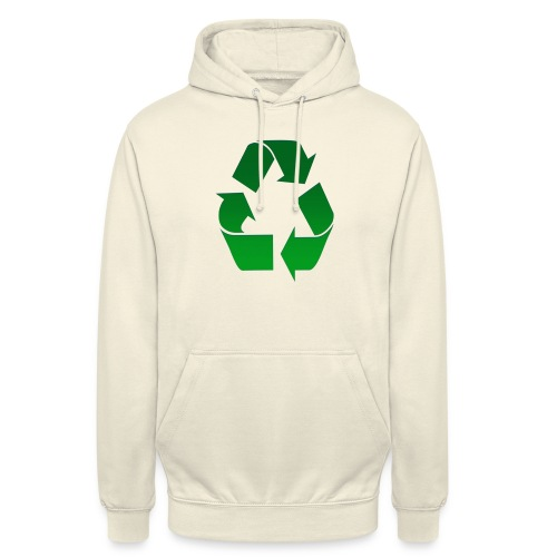 Recyclage - Sweat-shirt à capuche unisexe