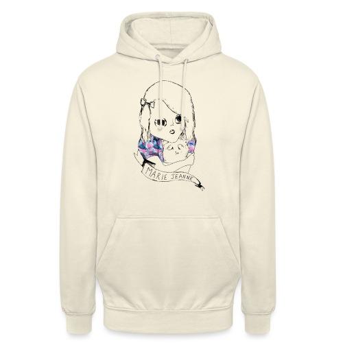 Marie Jeanne - Sweat-shirt à capuche unisexe
