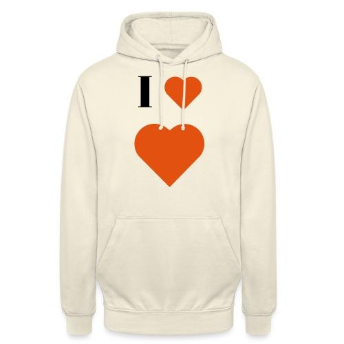 I Heart heart - Unisex Hoodie