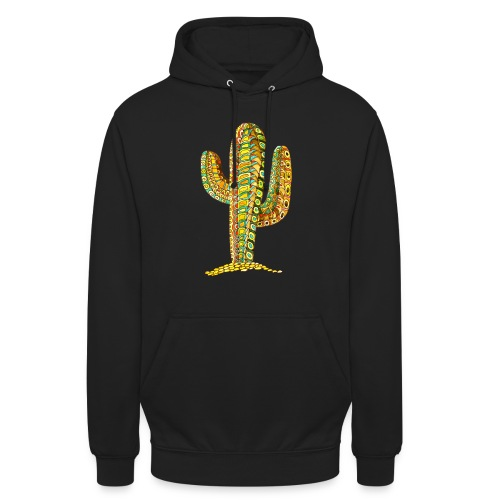 Le cactus - Sweat-shirt à capuche unisexe