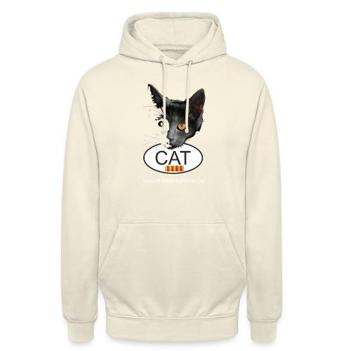 gat catala - Sudadera con capucha unisex