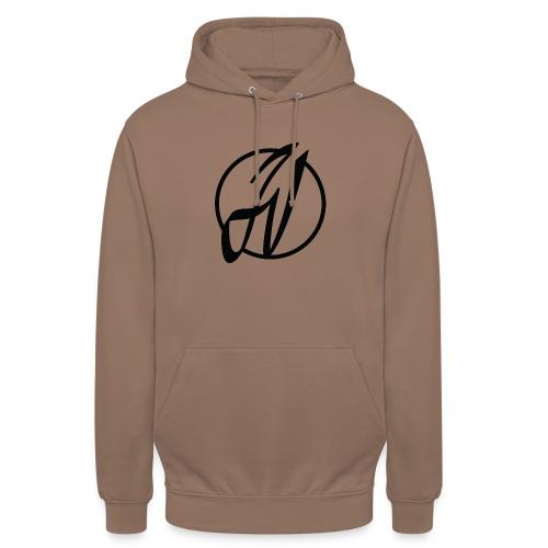 JV Guitars - logo noir - Sweat-shirt à capuche unisexe