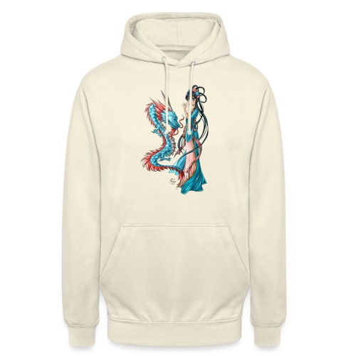 Blue Dragon - Sweat-shirt à capuche unisexe