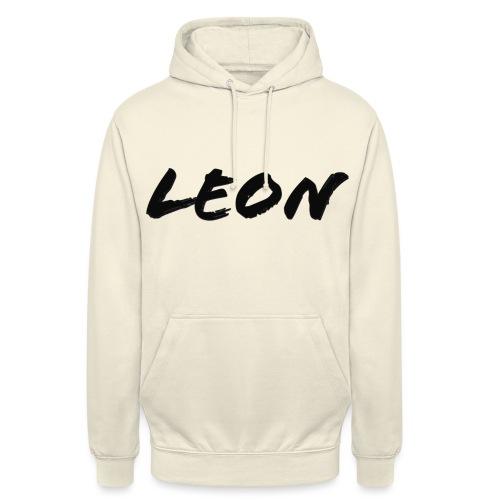 Leon - Sweat-shirt à capuche unisexe