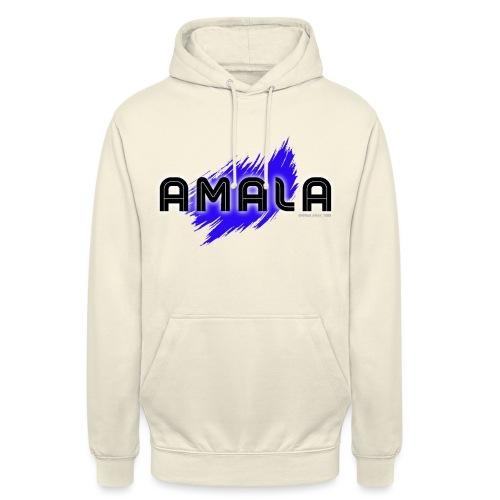 Amala, pazza inter (bianca) - Felpa con cappuccio unisex