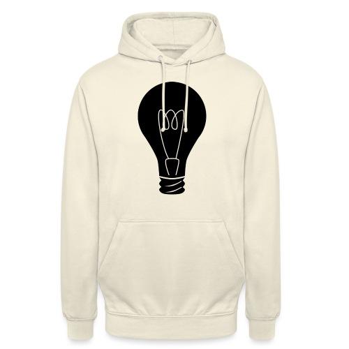 Glühbirne - Unisex Hoodie