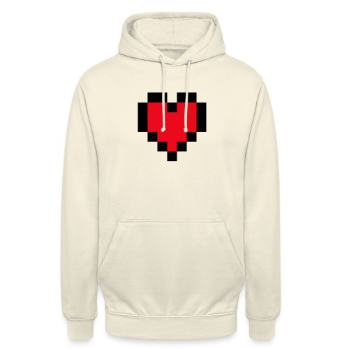 Pixel Heart - Hoodie unisex