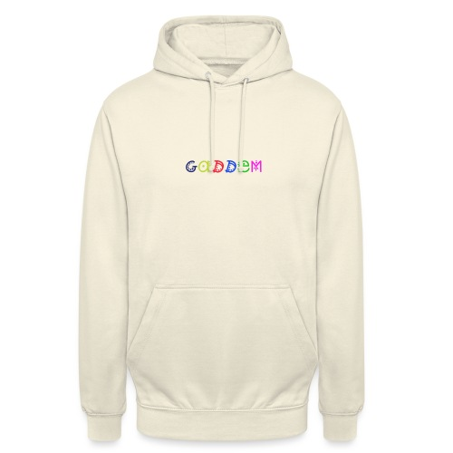 Gaddem - Sweat-shirt à capuche unisexe