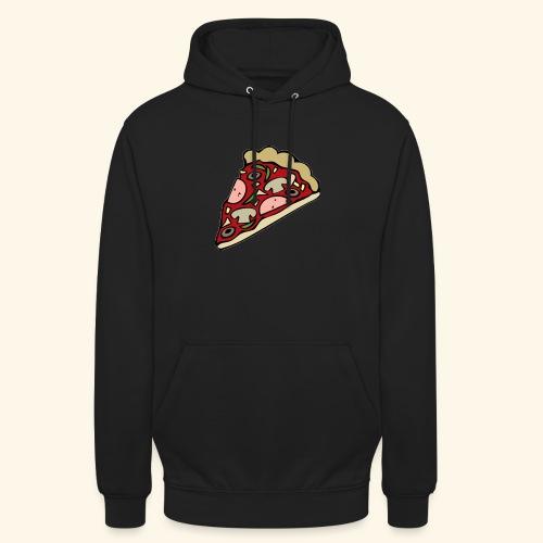 Pizza - Sweat-shirt à capuche unisexe