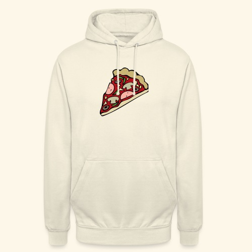 Pizza - Sweat-shirt à capuche unisexe
