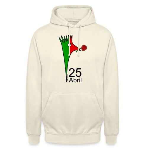 Galoloco - 25 Abril - Sweat-shirt à capuche unisexe