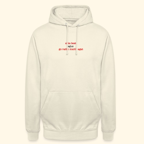 Good bye and thank you - Unisex Hoodie