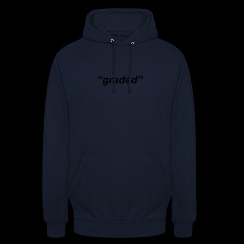 Simple Logo, Graded - Unisex Hoodie
