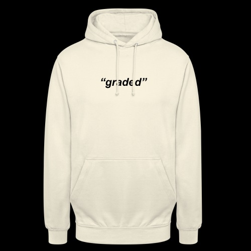 Simple Logo, Graded - Unisex Hoodie
