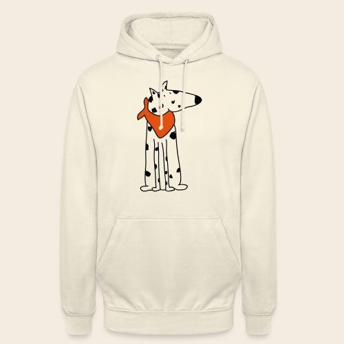 mignon dalmatien - Sweat-shirt à capuche unisexe
