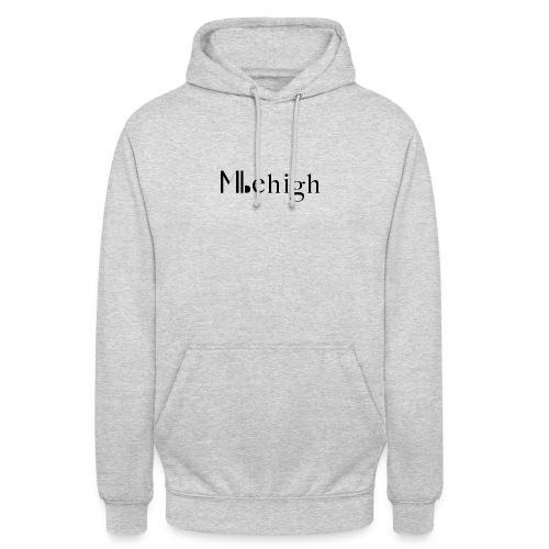Milehigh Rags Logo Black - Unisex-hettegenser