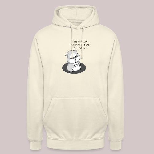 drunk_Hamster - Felpa con cappuccio unisex