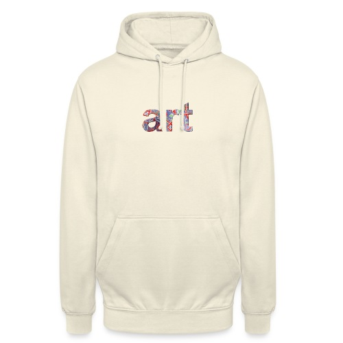 art - Sweat-shirt à capuche unisexe