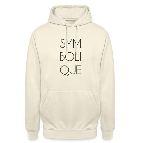 Symbolique - Sweat-shirt à capuche unisexe