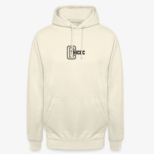 thiccc logo White - Unisex Hoodie