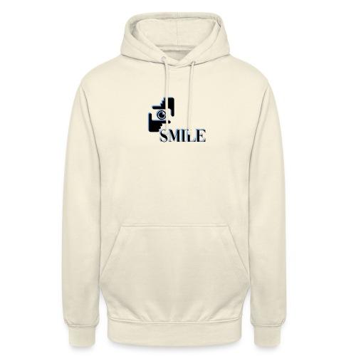 Smile - Sweat-shirt à capuche unisexe