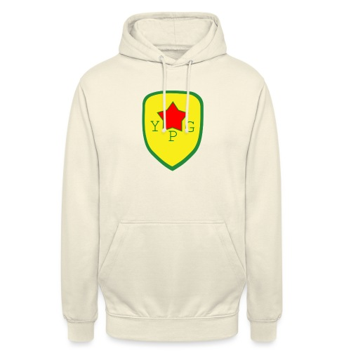 "Unisex Red YPG Support Hoodie - Huppari ""unisex"""