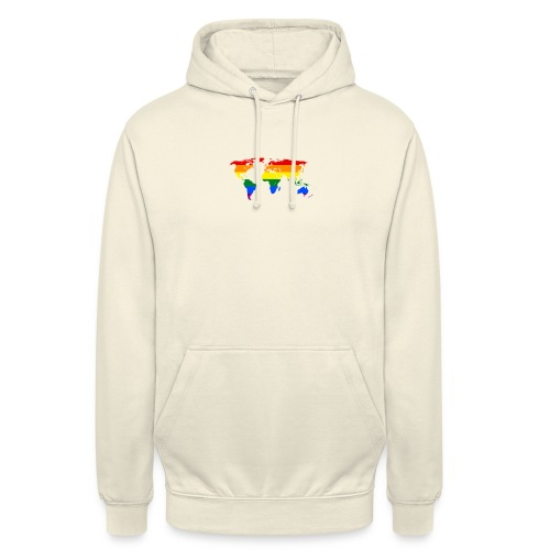 HBTQ WORLD - Luvtröja unisex