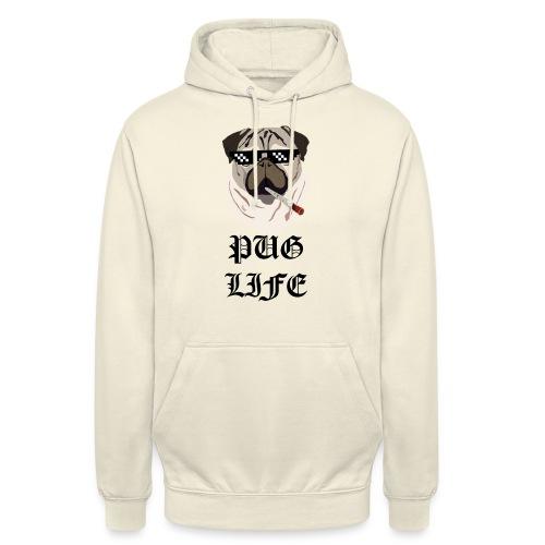 Pug Life - Hættetrøje unisex