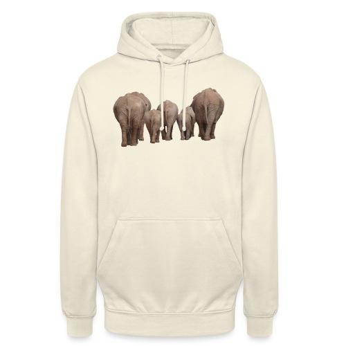 elephant 1049840 - Felpa con cappuccio unisex
