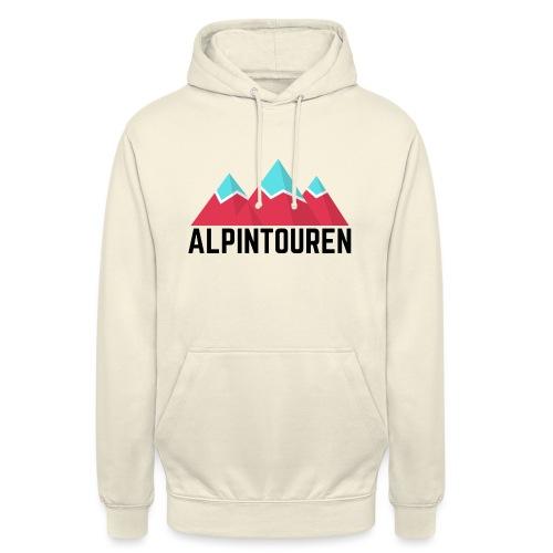 Alpintouren - Unisex Hoodie