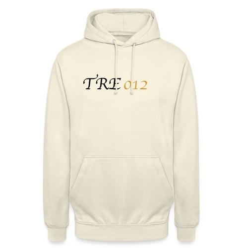 TRE012 - Felpa con cappuccio unisex