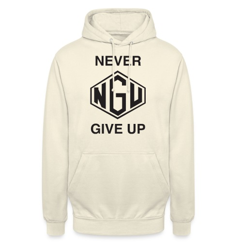 NEVER GIVE UP - Unisex Hoodie