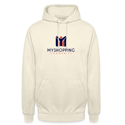 logo MYSC verticale - Felpa con cappuccio unisex