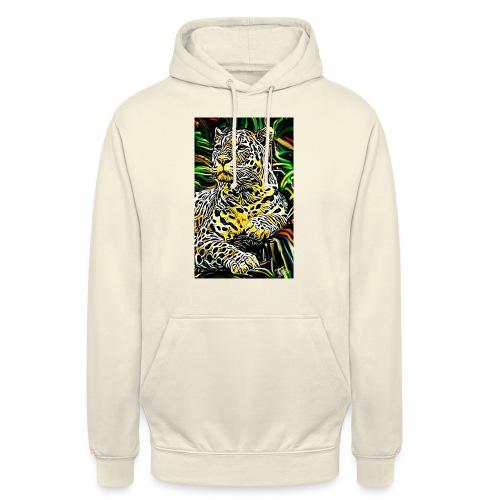 Giaguaro - Felpa con cappuccio unisex