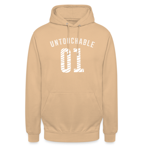 Untouchable 01 - Sudadera con capucha unisex