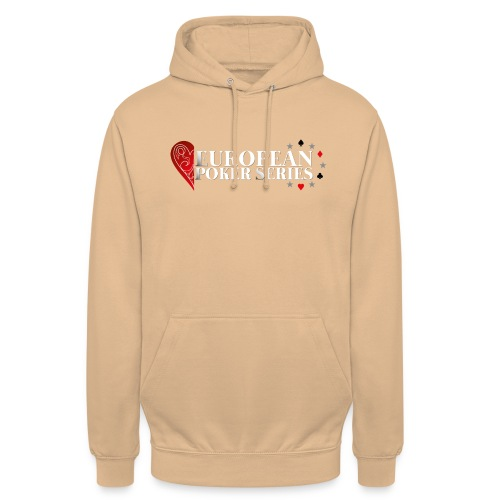 European Poker Series - Sweat-shirt à capuche unisexe