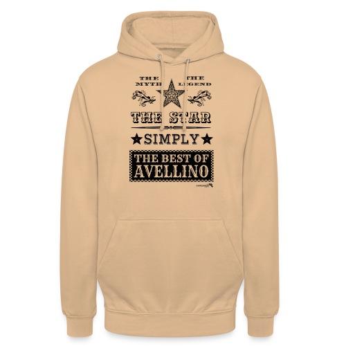 1,03 The Star Legend Avellino - Felpa con cappuccio unisex