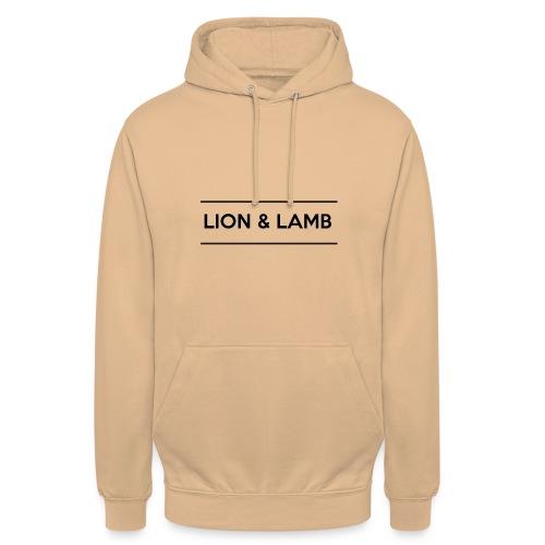 Lion & Lamb | dark - Unisex Hoodie