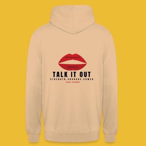 Mental Health Awareness (Talk It Out) - Unisex Hoodie