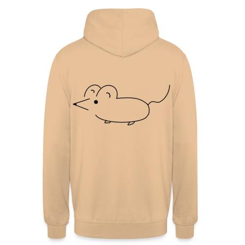 mouse - Sweat-shirt à capuche unisexe