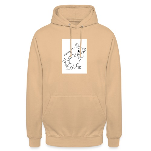 La Le Petit filon chat - Sweat-shirt à capuche unisexe