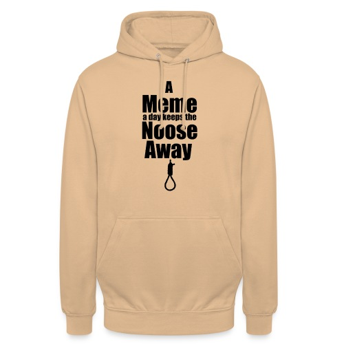 A Meme a day keeps the Noose Away cup - Unisex Hoodie