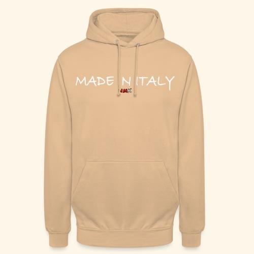 nmk made in italy - Felpa con cappuccio unisex