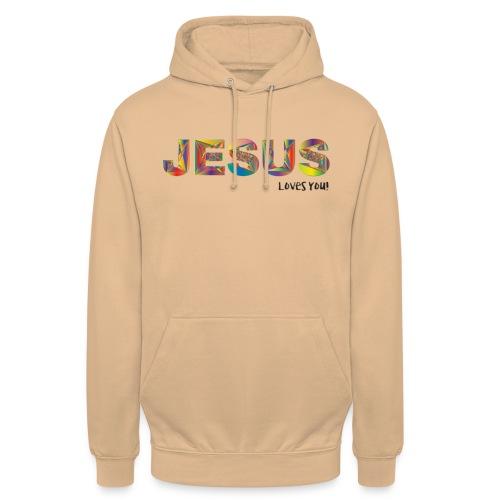 Jesus Loves You - Hoodie unisex