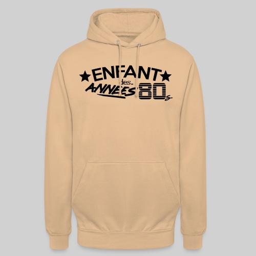 ENFANT DES ANNEES 80 - Sweat-shirt à capuche unisexe
