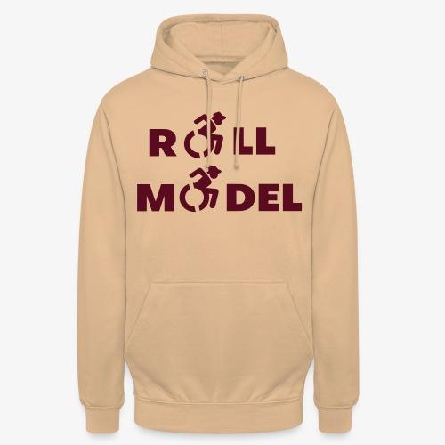 Rolstoel roll model 003 - Hoodie unisex