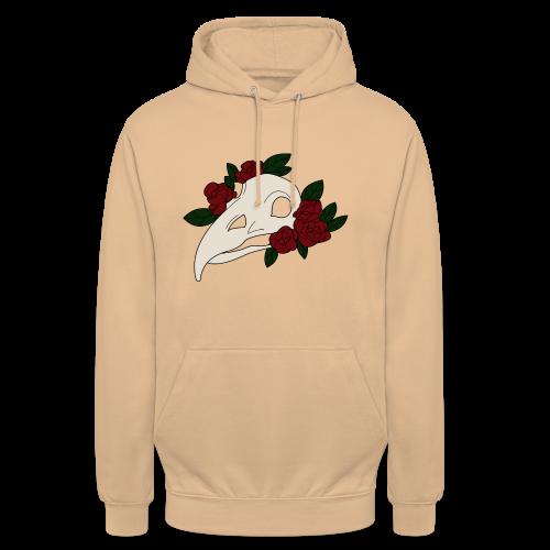 Serial Flower - Sweat-shirt à capuche unisexe