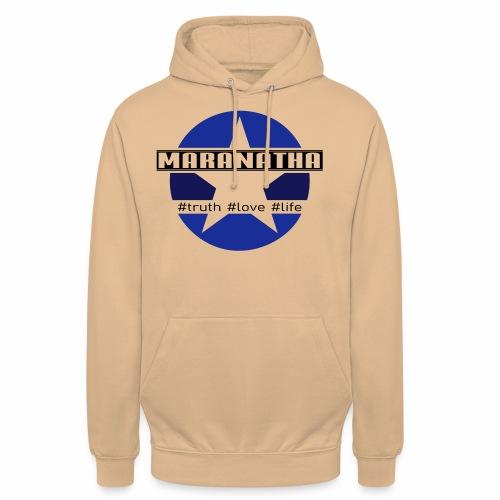 maranatha blau-braun - Unisex Hoodie